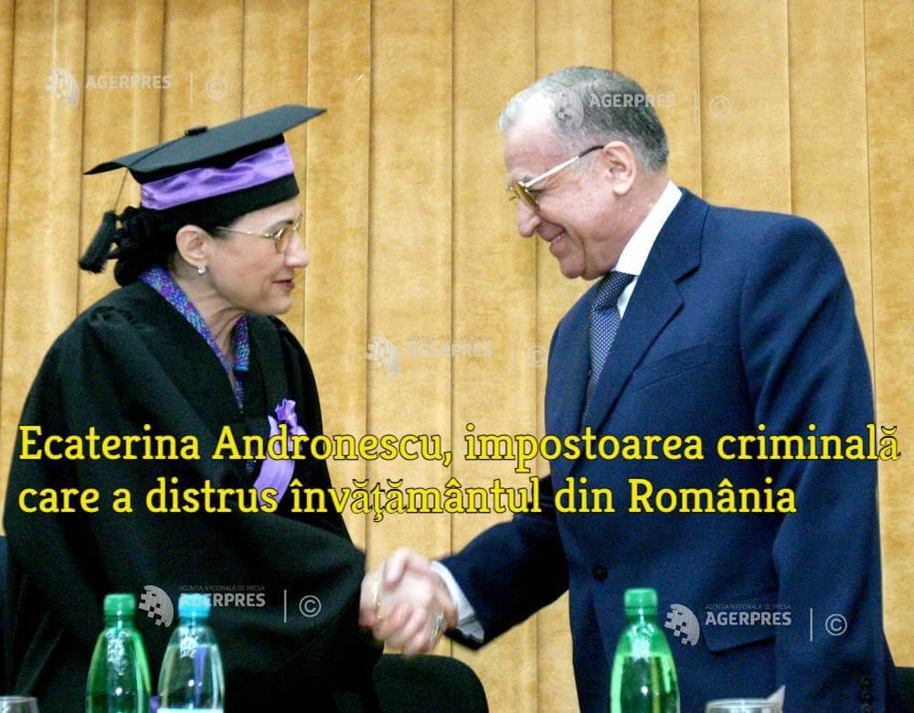 Ecaterina Andronescu si Ion Iliescu