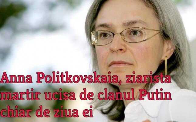 Anna Politkovskaia, Rusia