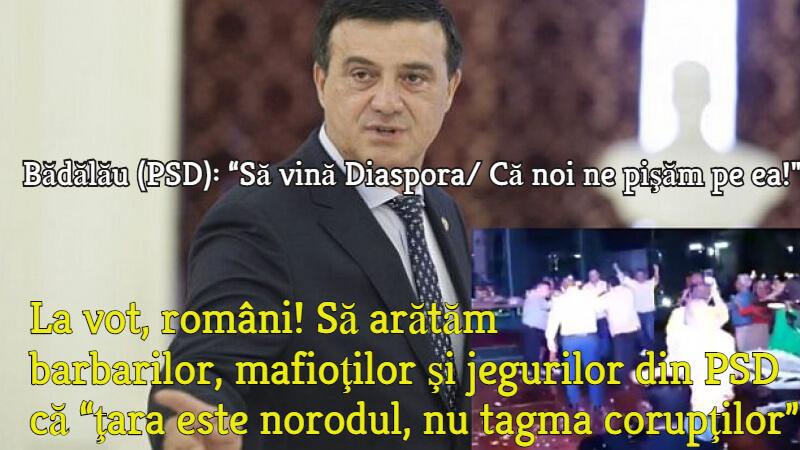 Badalau, PSD