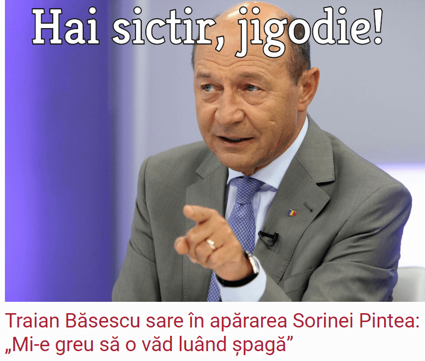 Tarian Basescu