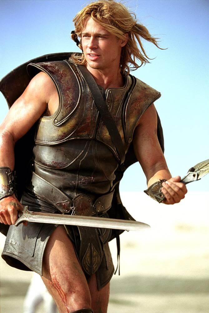 Brad Pitt in Troy (Troia)