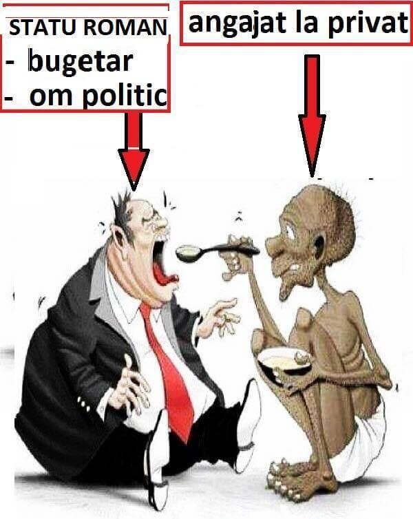 Bugetar versus angajat la privat