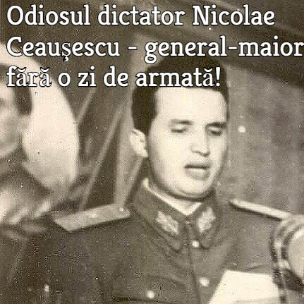 Dictatorul comunist Nicolae Ceausescu