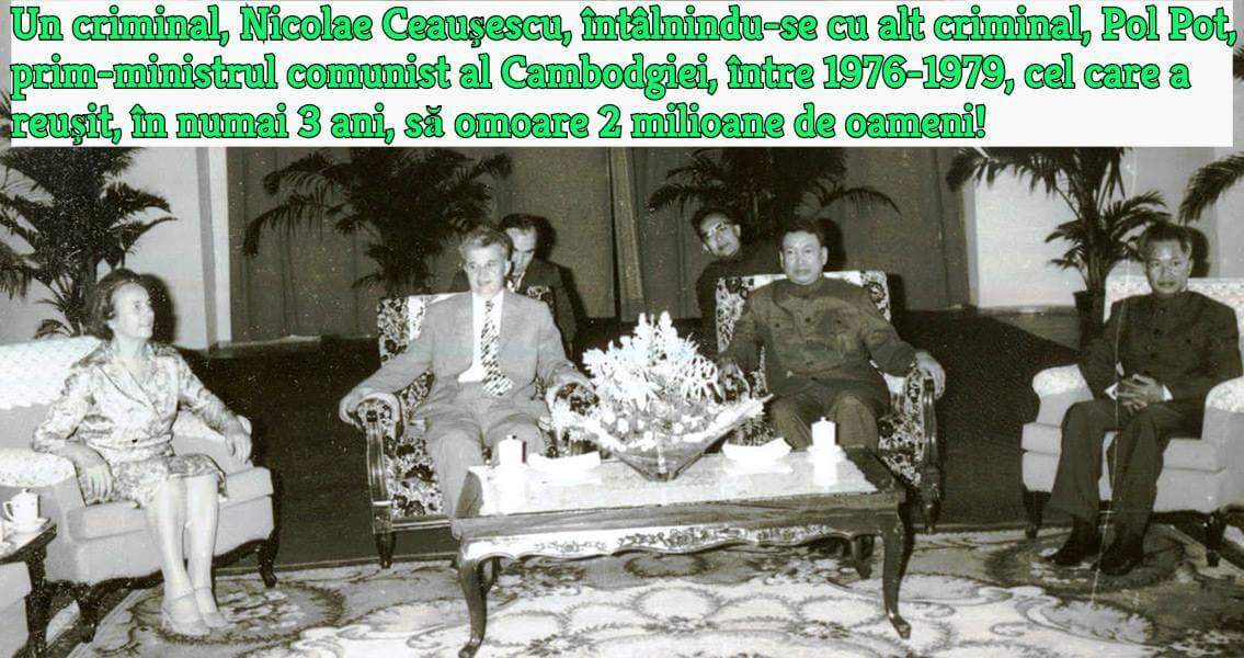 Ceausescu, Pol Pot