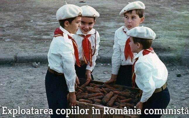 Exploatarea copiilor in comunism