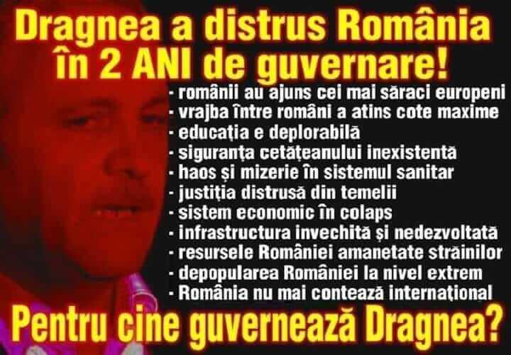 Criminalul PSD-ist Liviu Dragnea