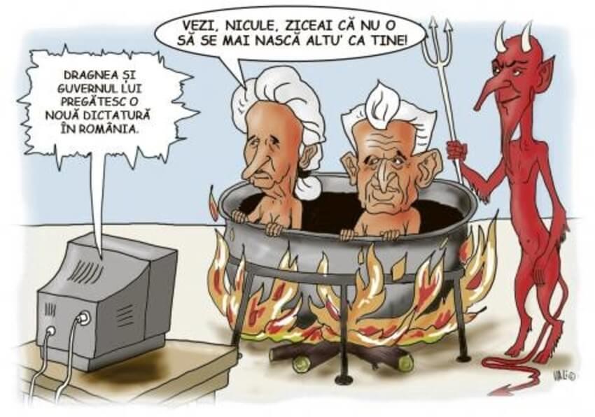 Dragnea Ceausescu