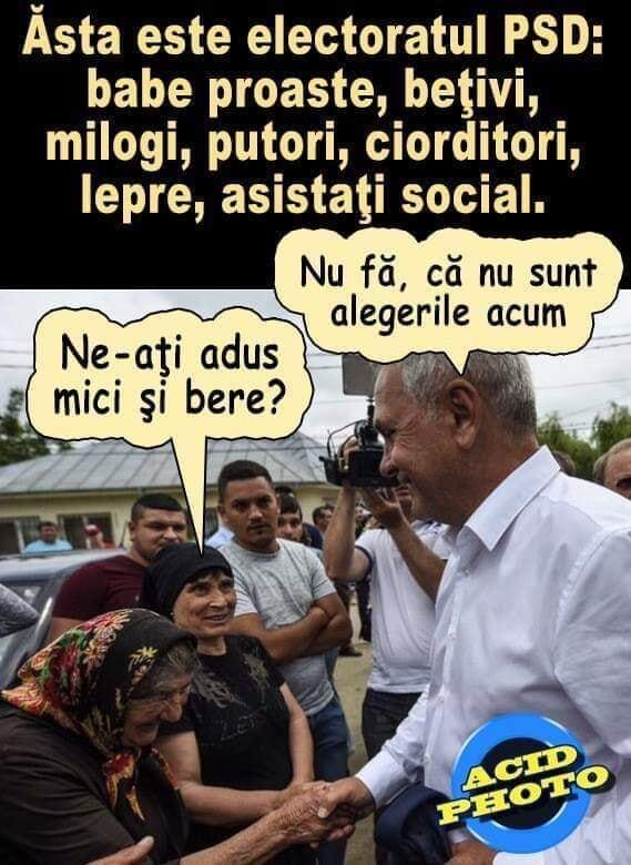 Electoratul PSD