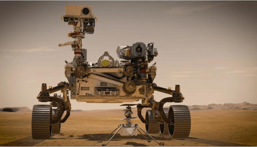 Elicopter pe Marte