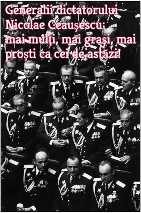 Generali in comunism