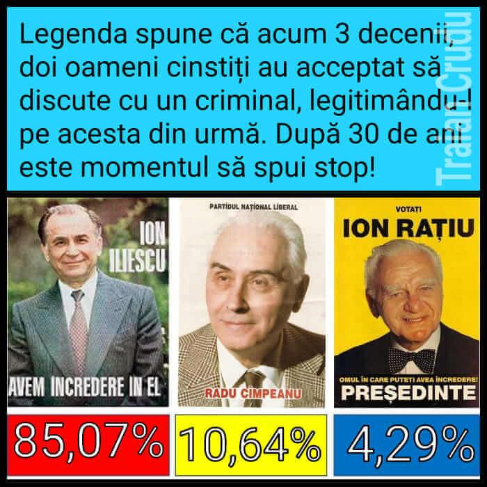 Ion Iliescu, Radu Cimpeanu, Ion Ratiu