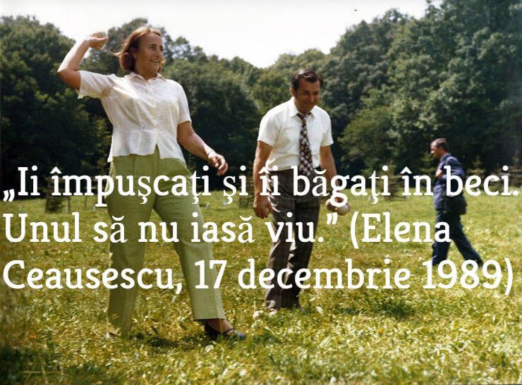 Elena Ceausescu si Ion Iliescu