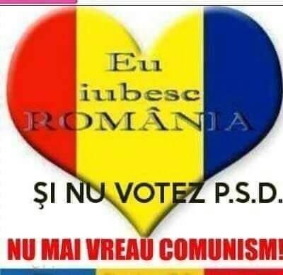 Iubesc Romania, nu votez PSD