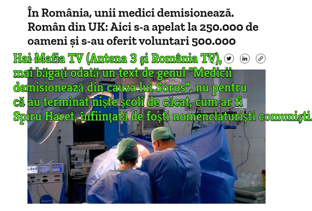 Medici, demisie