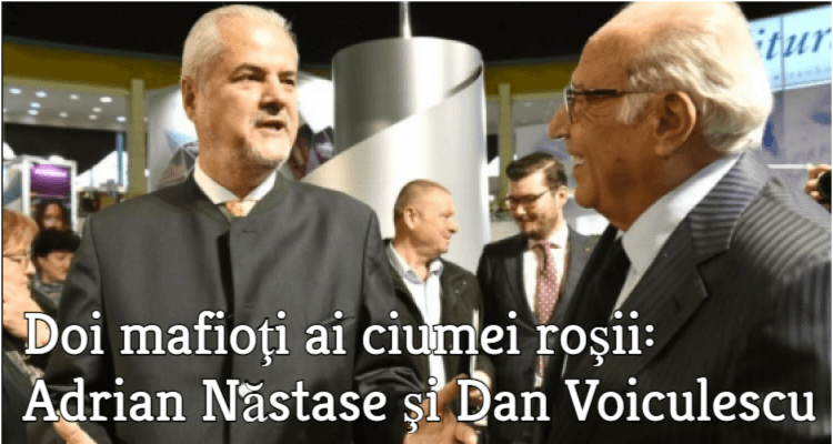 Adrian Nastase si Dan Voiculescu