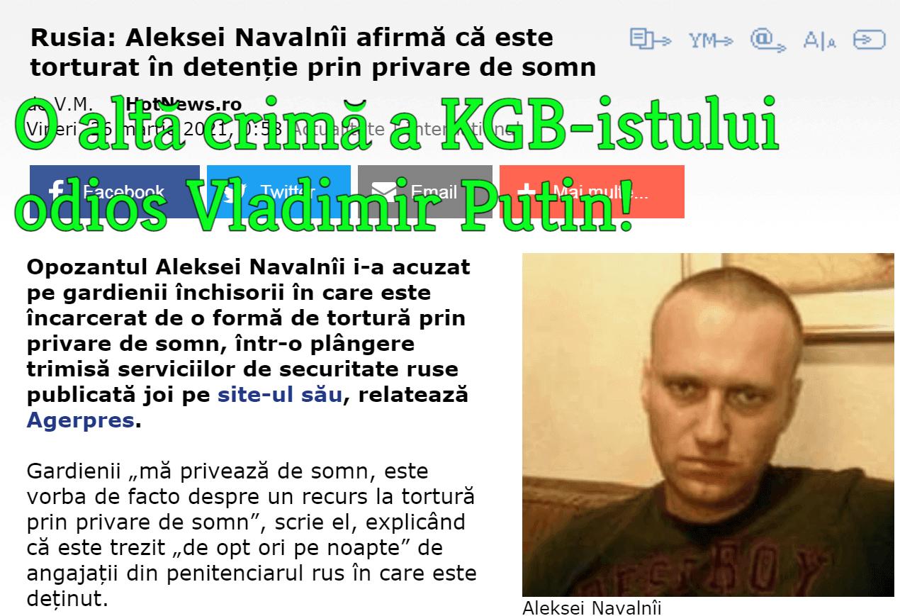 Crimele KGB-istului Vladimir Putin