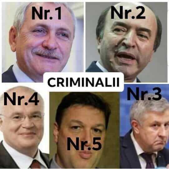Criminalii ciumei rosii