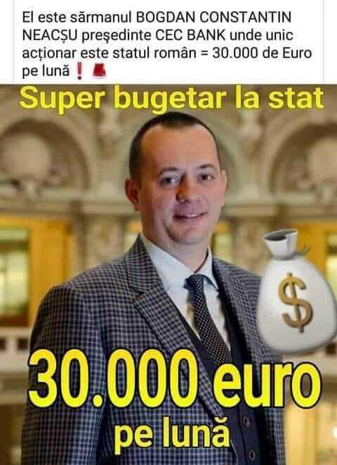 Presedintele CEC - salariu