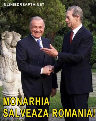 Ion Iliescu si Regele Mihai