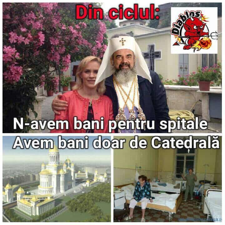 Vrem spitale, nu catedrale!