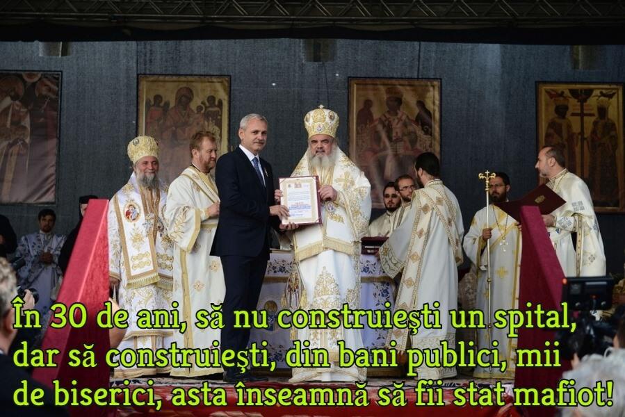 Statul mafiot roman