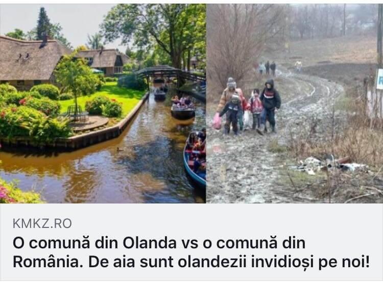 Sat Olanda versus sat Romania