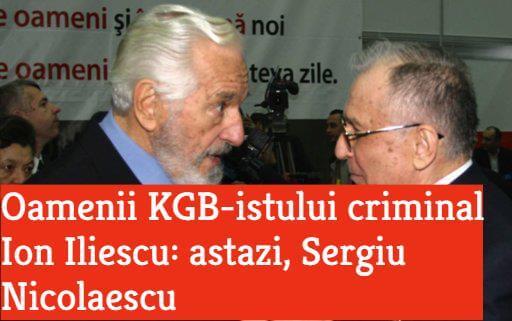 Sergiu Nicolaescu si Ion Iliescu