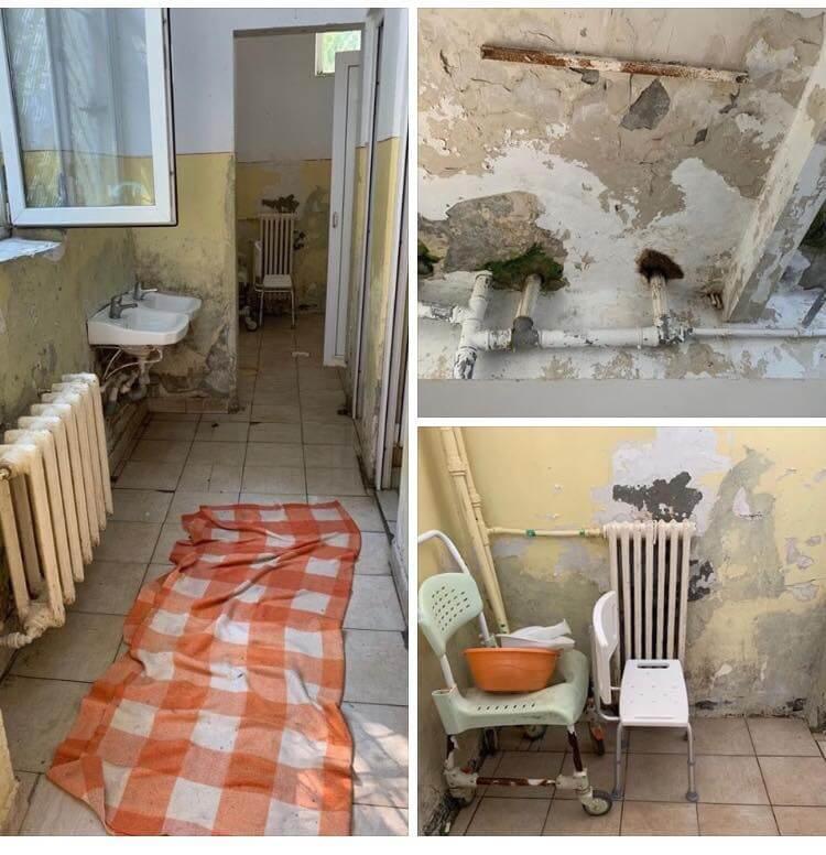 Secția de psihiatrie (Palazu Mare) a Spitalului Județean din Constanța
