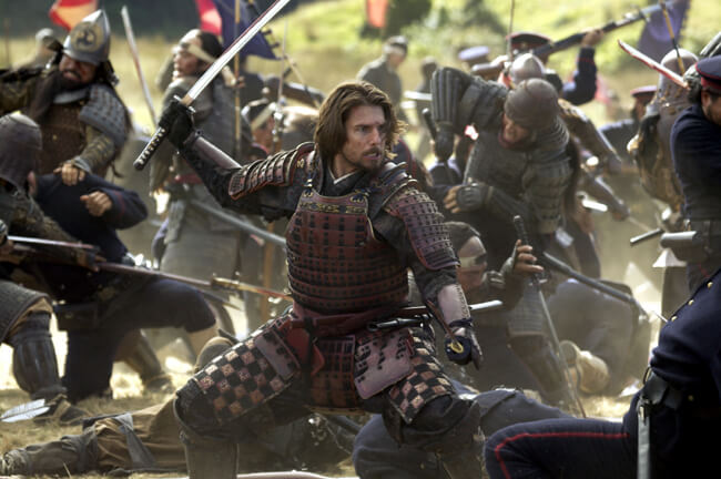 Tom Cruise in Ultimul samurai
