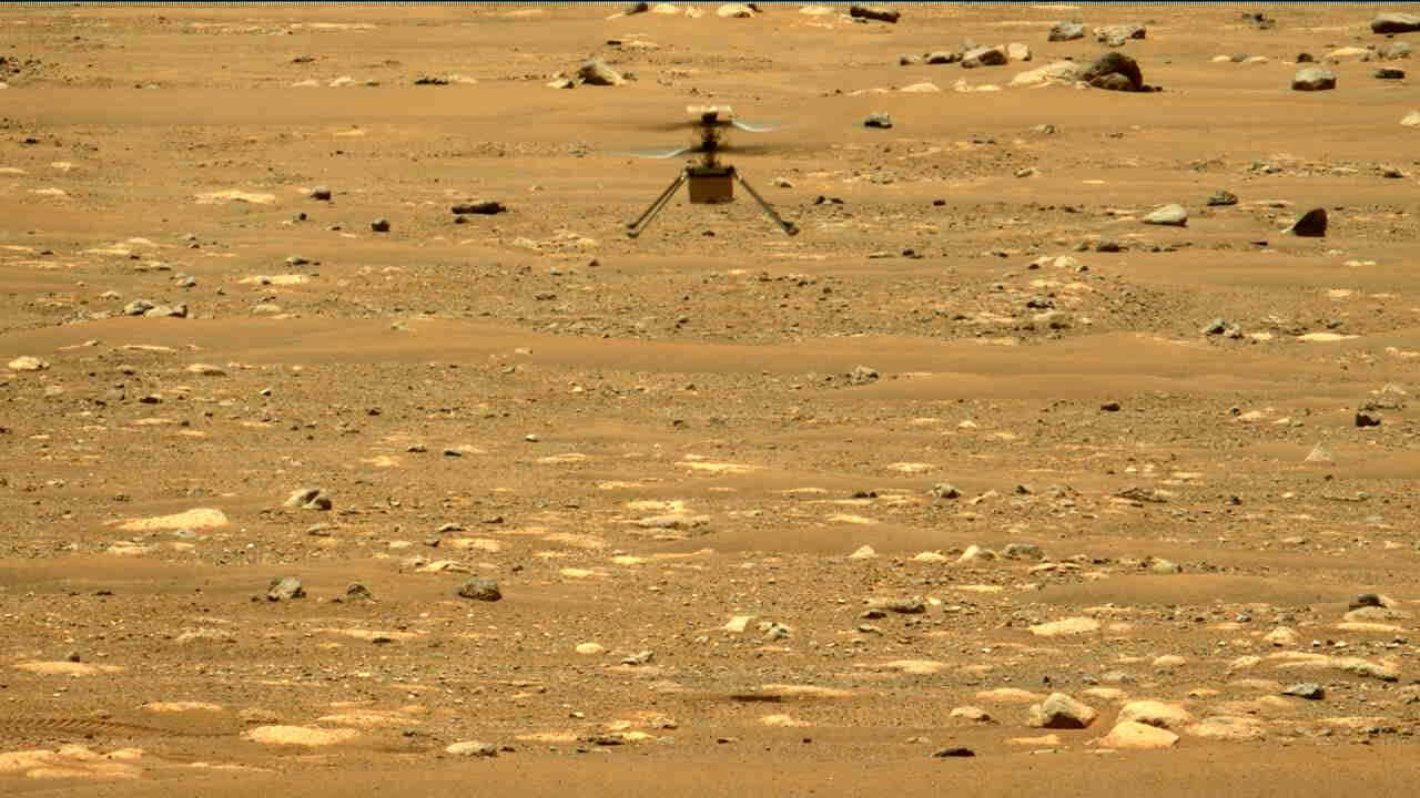 Zbor Ingenuity pe Marte