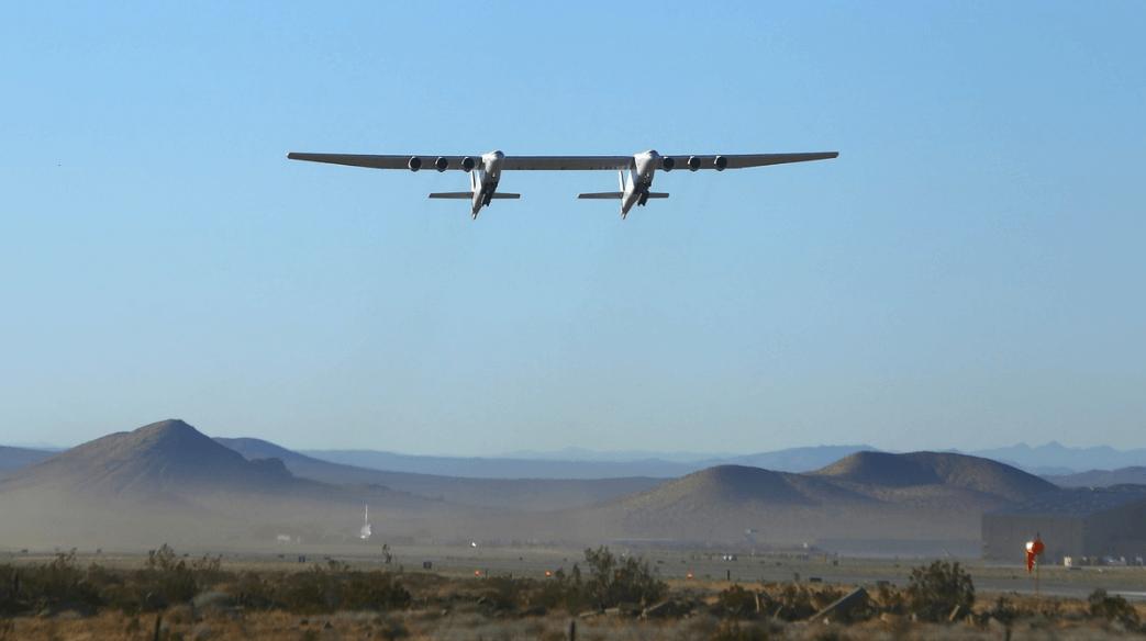 Zbor test al celui mai mare avion din lume