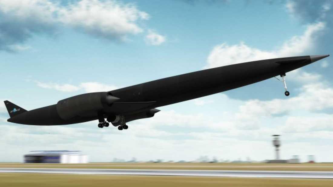 Avion ce poate strabate orice distanta pe Terra in doar 4 ore