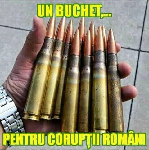 Buchet pentru corupti