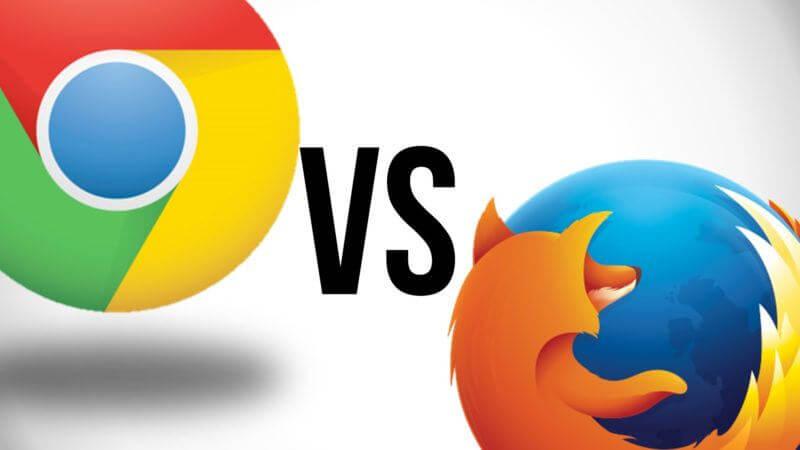 Chrome versus Firefox