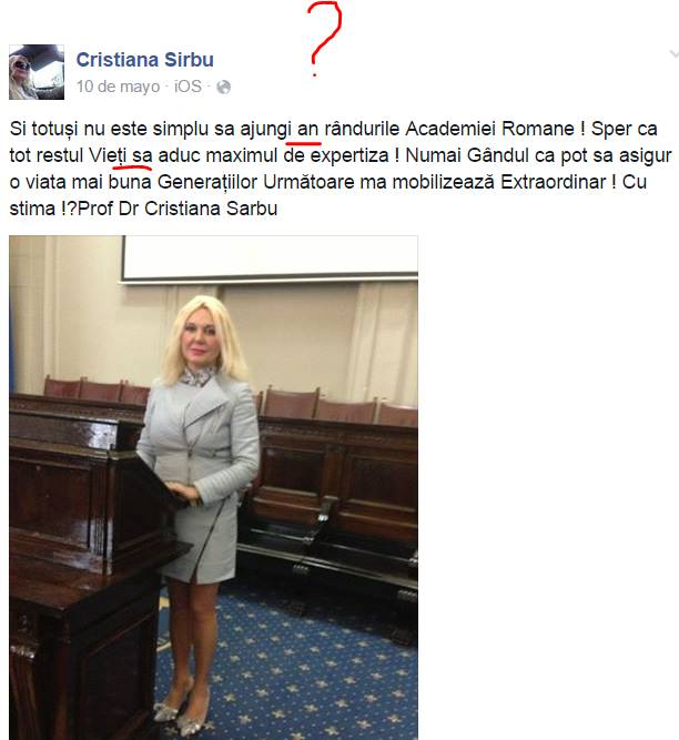 Cristiana Sirbu