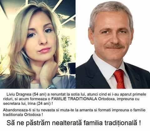 Irina (24 ani) si Liviu Dragnea (54 ani)