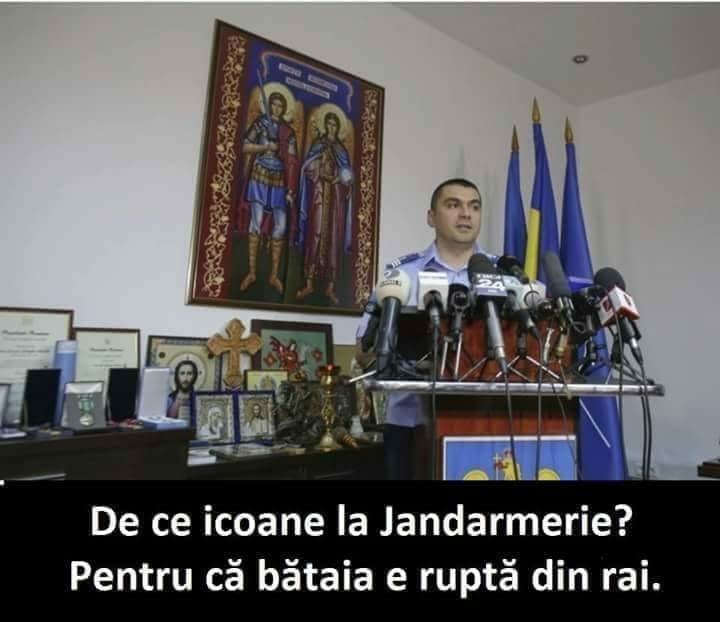 Jandarmerie, icoane