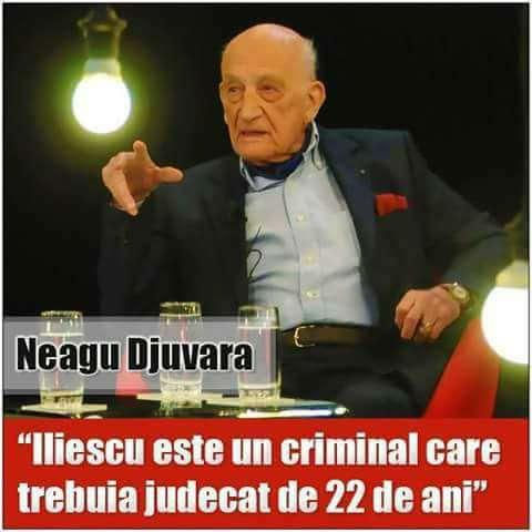 Neagu Djuvara despre Ion Iliescu