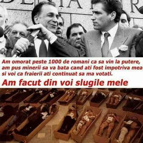 Ion Iliescu si Petre Roman