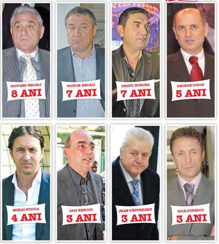 Mafiotii fotbalului romanesc