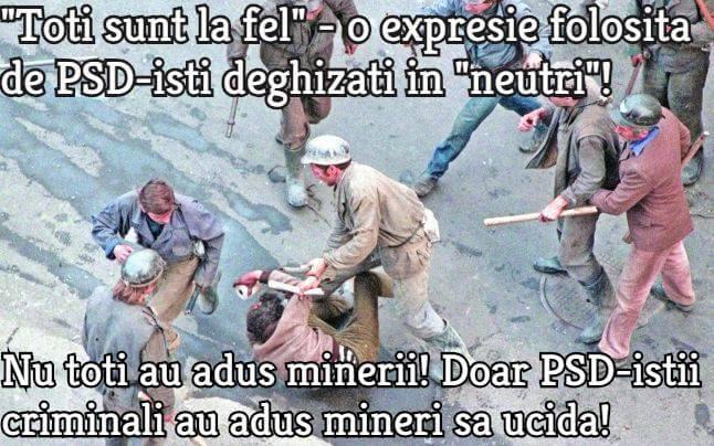PSD, mineriada