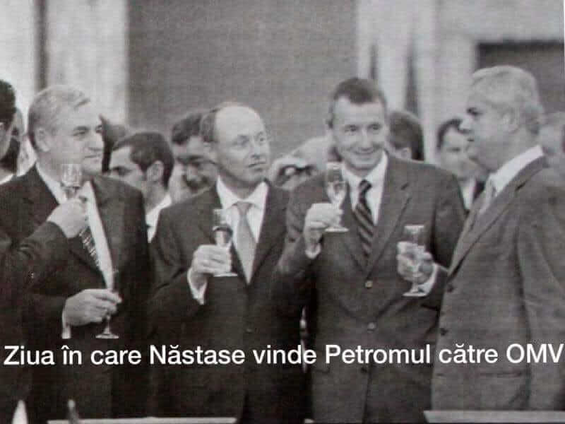 Adrian Nastase, Petrom