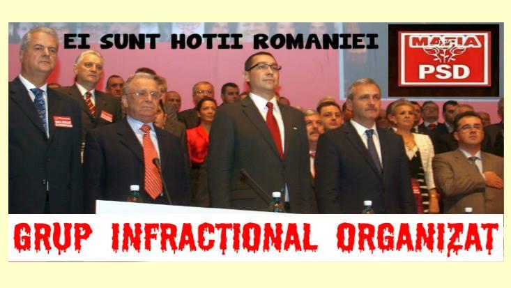 PSD, grup infractional organizat