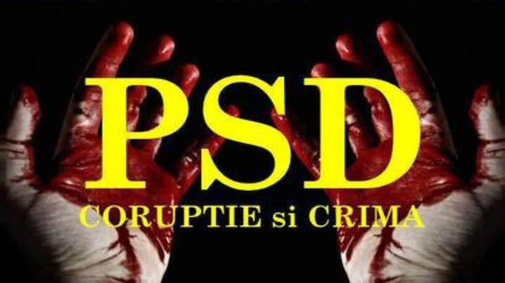 PSD = coruptie si crima