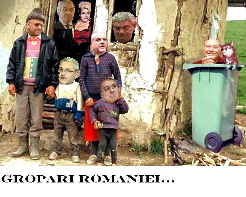PSD-istii, groparii Romaniei
