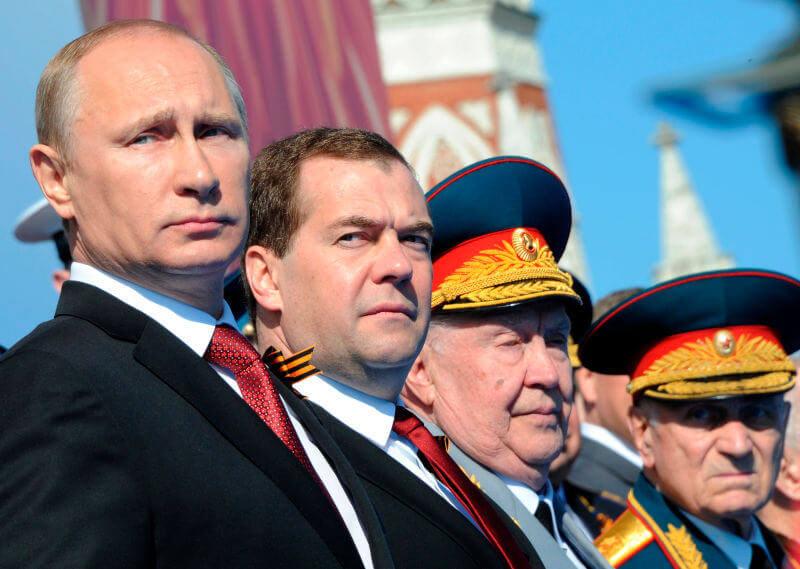 Vladimir Putin si camarila sa de ucigasi