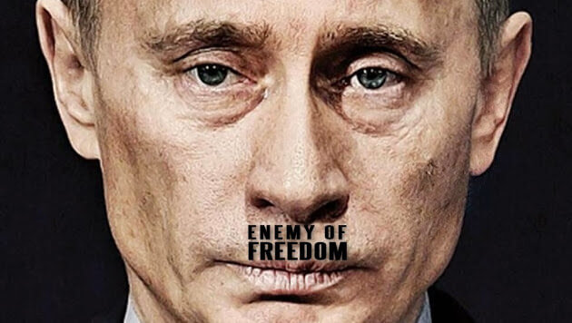 Vladimir Putin, inamicul libertatii