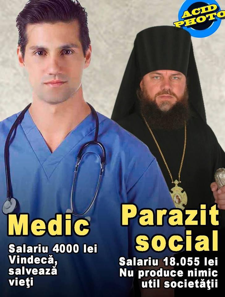 Medic versus popa