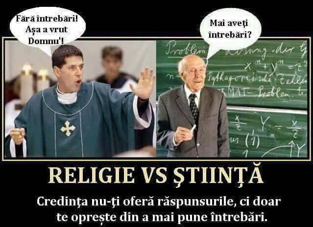 Religie versus stiinta