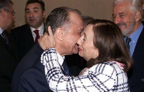 Ion Iliescu si Rodica Stanoiu